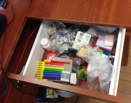 """Пример 5S в офисе, состояние """"до"""""""