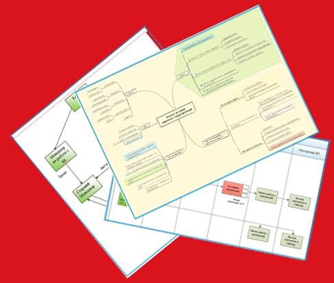 Инфографика и схемы процессов в рассылке